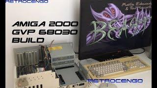 Commodore Amiga 2000 Build GVP 68030 40MHz 2MB Chip 4MB Fast ram 16GB CF my dream Amiga 2000