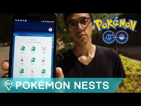 HOW TO FIND RARE POKÉMON NESTS IN POKÉMON GO