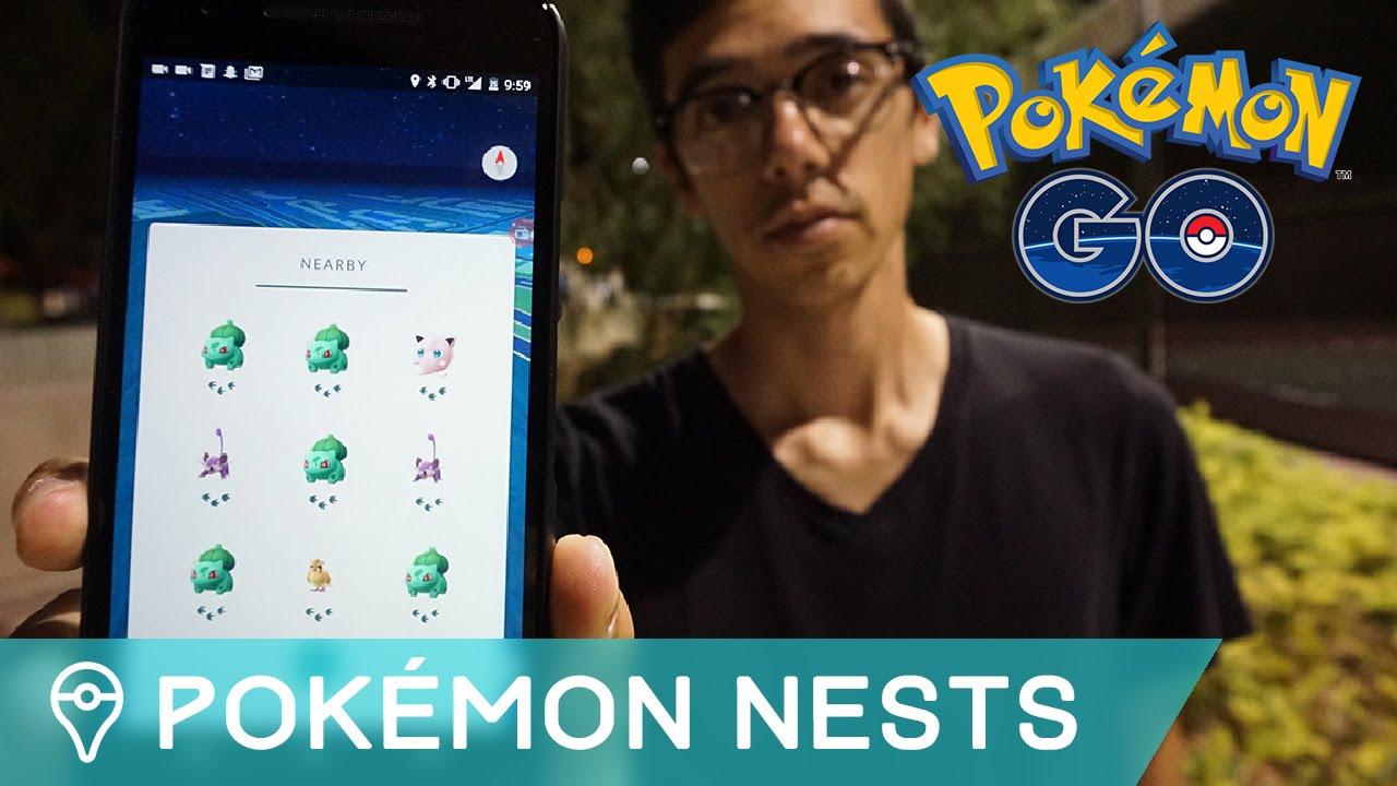 How To Find Rare Pokemon Nests In Pokemon Go Youtube