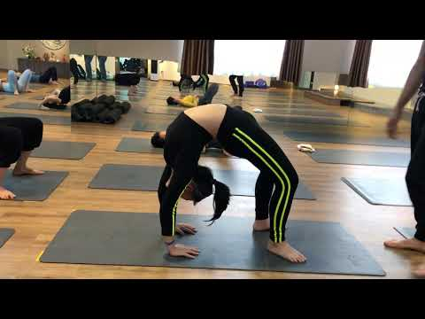 Back Bend practice with Master ajay in Jai yoga