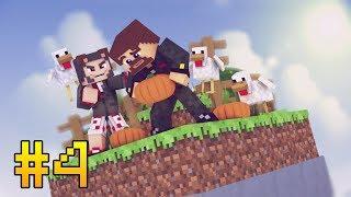 ВЫЖИВАНИЕ НА ОДНОМ ЧАНКЕ С АЧИВКАМИ #4 - ВЕСЕЛАЯ ФЕРМА - Minecraft Прохождение Карты