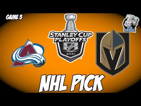 Colorado Avalanche vs Vegas Golden Knights 6/8/21 Free NHL Pick and Prediction NHL Betting Tips
