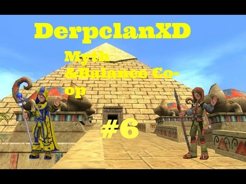 Wizard101 | Myth and Balance Co-op | #6 Pyramid of the sun ;D