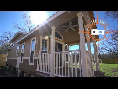 A Tiny Modular House Tour ~ A Medium Sized, Semi Permanent Home On Wheels