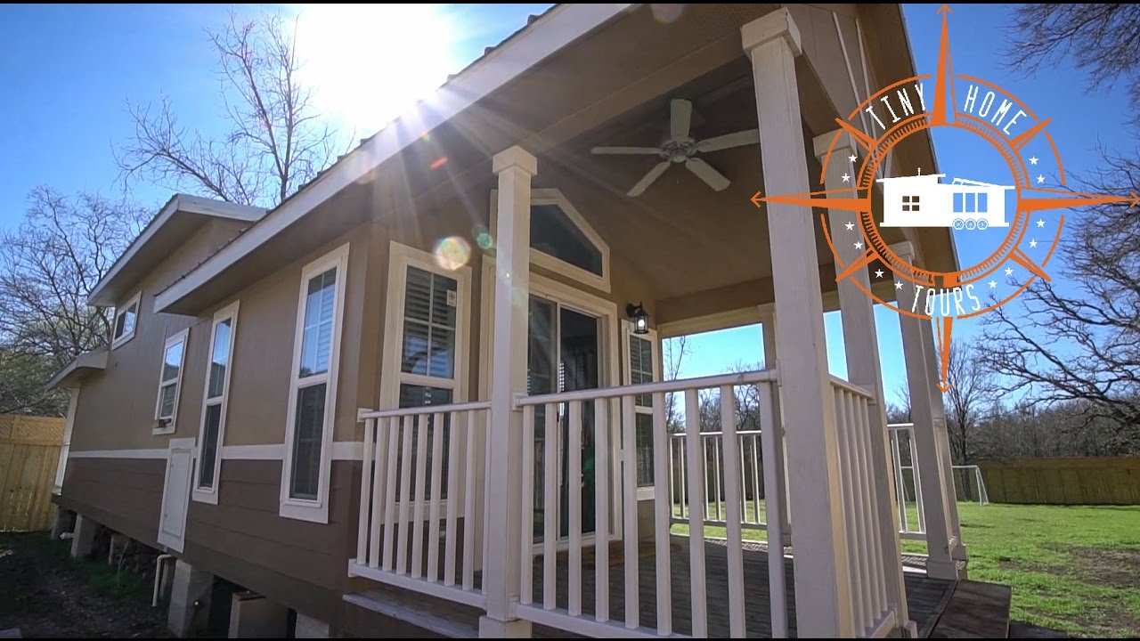 A tiny modular house tour a medium sized semi permanent home on wheels