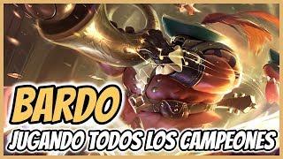 """¡JUGANDO a """"TODOS"""" los CAMPEONES! - BARDO (Versión 2019)"""