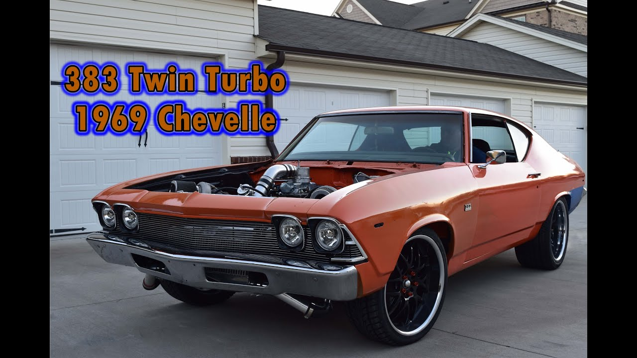 383 Stroker Twin Turbo 69 Chevelle First Test Drive Youtube. 383 Stroker Twin Turbo 69 Chevelle First Test Drive. Wiring. Sbc Wiring Harness 69 Chevelle At Scoala.co