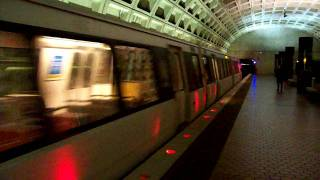 WMATA Money Train passes through Foggy Bottom-GWU station without stopping