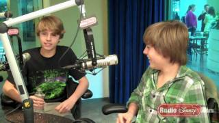Cole & Dylan Sprouse Pranks on Radio Disney