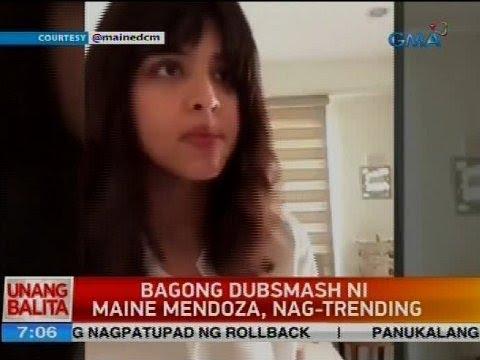 Bagong dubsmash ni Maine Mendoza, nag-trending