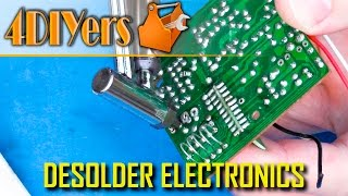 DIY: How to Des๐lder Electronic Components