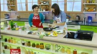 Будет вкусно! 11/12/13 Салат с квиноа, рыба на овощной подушке, шоколадный кекс. GuberniaTV