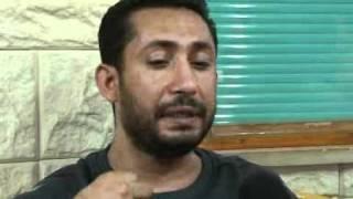 شاب من غزة يحاول الانتحار من فوق برج الشروق في الرمال بسبب معاناته من قطع الراتب