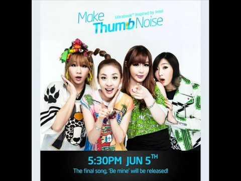 2NE1 - Be Mine (Audio)
