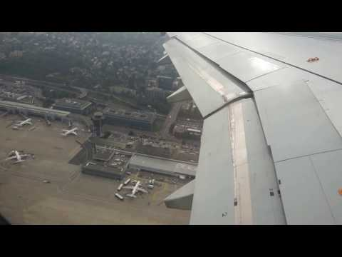 Swiss International Air Lines Flight 1286 A320 GVA✈CPH Taxi+Takeoff+Landing Oct 12th 2015