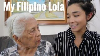 World's Cutest Filipino Grandma (My Lola)