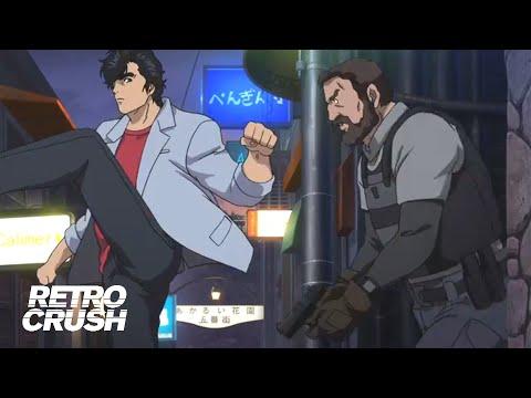 Hitmen can't handle unarmed Ryo Saeba   City Hunter: Shinjuku Private Eyes (2019)