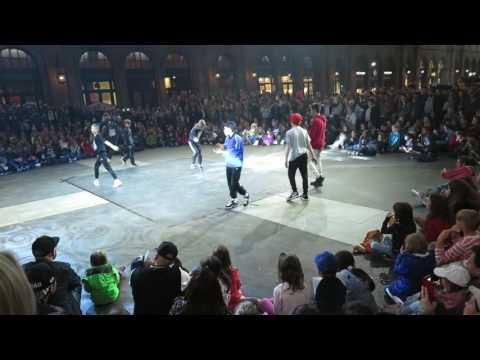 Zürich tanzt! 2017  Kids Breaking Battle, Fresh & Funky Crew am Hauptbahnhof
