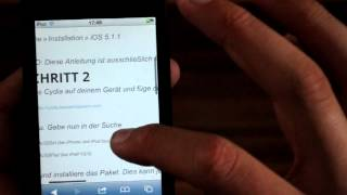 Siri auf iOS 5.1.1 mit Ac!d Siri [iPhone 3Gs/4, iPod Touch 4, iPad] [HD]