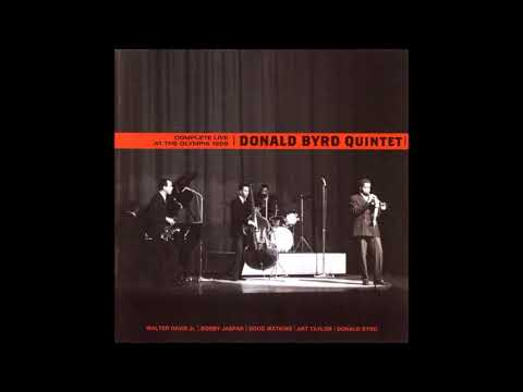 Donald Byrd Quintet-Live at the olymplia 1958 full album