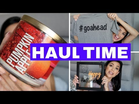 HAUL TIME | BATH & BODY WORKS, TARGET, PO BOX MAIL & MORE
