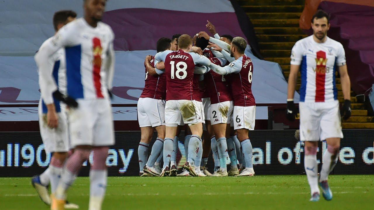 HIGHLIGHTS   Aston Villa 3-0 Crystal Palace