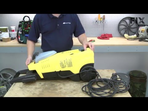 Karcher Pressure Washer Repair – How to Replace the Motor