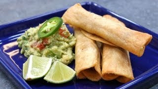 Flautas (or Taquitos) And Guacamole With Hilah Cooking!