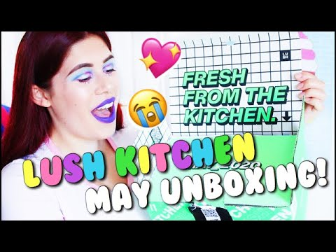 LUSH KITCHEN MAY SUBSCRIPTION UNBOXING! 💖 | FRANALIBI ...