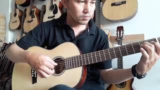 Đàn ghita acoustic DD150 mini - đàn guitar acoustic DD150 - Duy Guitar