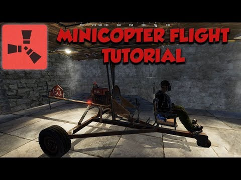 Minicopter Flying Tutorial - Rust thumbnail