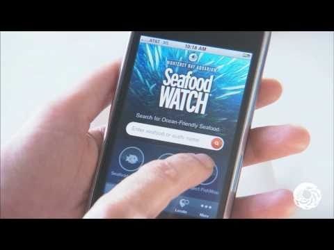 Seafood Watch iPhone App Features Project FishMap