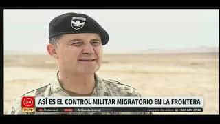 Trabajo fronterizo del Ejército en Arica y Parinacota
