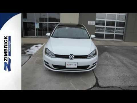 Certified 2015 Volkswagen Golf Madison WI Sun Prairie, WI #97856 - SOLD