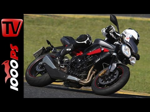 Triumph Street Triple R | Naked Bike Test Rennstrecke