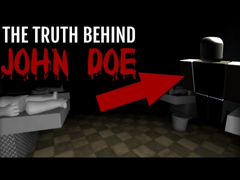 The TRUTH About JOHN DOE IN ROBLOX (Scary)