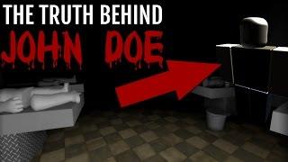 la verità su JOHN DOE IN ROBLOX (spaventoso)