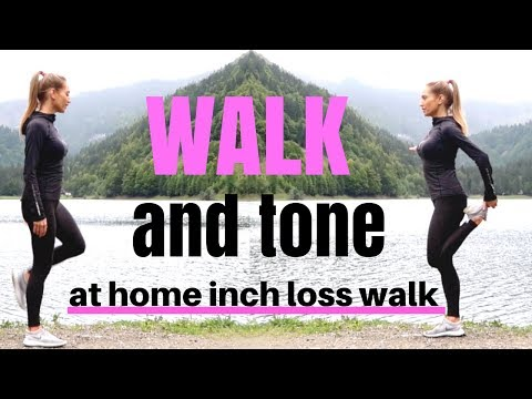 WALKING WORKOUT – Indoor Walk at home for weight loss, suitable for beginners, tone & burns calories