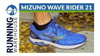 Mizuno Wave Rider 21 - Men's Review