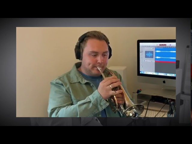 How can I keep from singing? James Fountain - Cornet (Traditional. arr. Andrew Wainwright)
