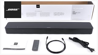Bose Smart Soundbar 300 – Unboxing + Setup