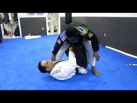 Jiu-Jitsu X-Guard to armlock