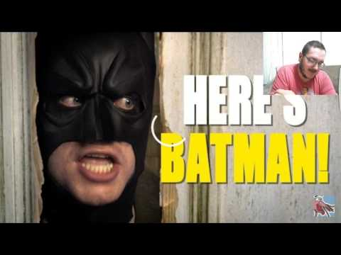 GET OUT OF THE BATHROOM! Batman in Classic Movies REACTION!