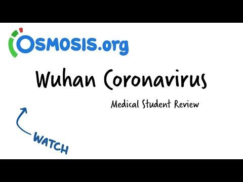 Wuhan Coronavirus: Osmosis Study Video
