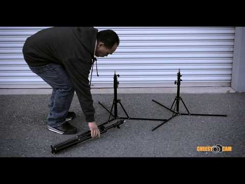 Compact and Portable Reverse Folding Light Stands