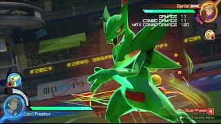Pokken Tournament (Sceptile) Burst Attacks /Exhibition Specials /Pokemon /Nintendo (Wii U) Frezhor