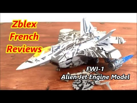 FWI-1 Alien Jet Engine Model For HTFD Leader Class Starscream