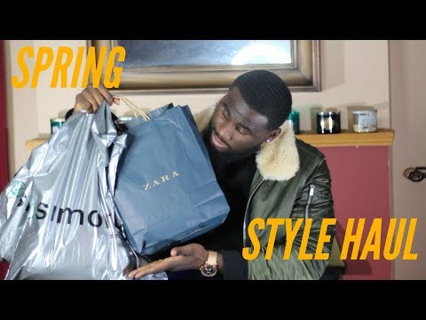 MENS FASHION HAUL/TRY ON SPRING 2018 | ZARA FOREVER 21 SIMONS | AFFORDABLE MENS FASHION