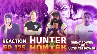 HunterxHunter Episode - 125 Great Power x And x Ultimate Power - Group Reaction