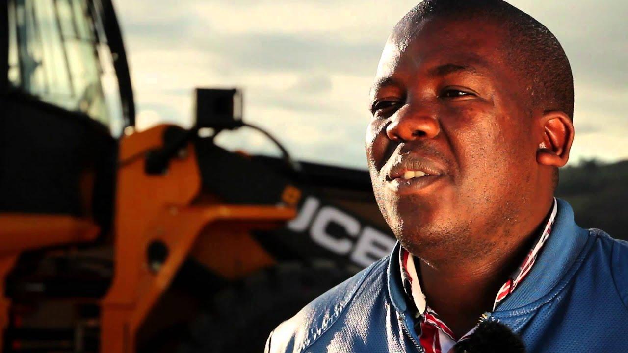 JCB WLS Testimonial - Malusi Mthembu - Mthembu Sand & Stone - South Africa